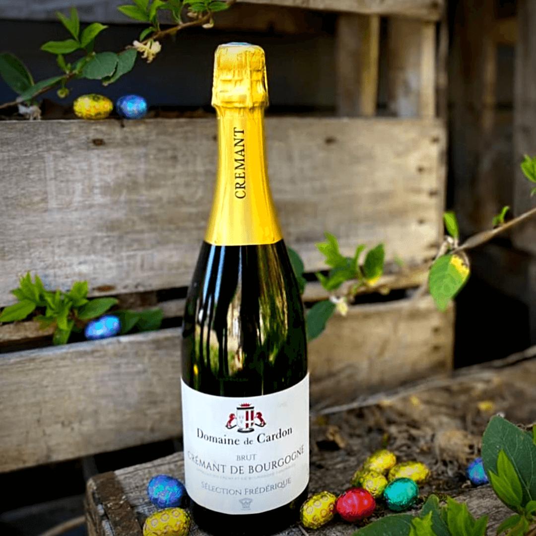 An image of the bottle of Domaine de Cardon's sparkling Crémant